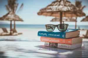 books in the sun